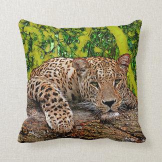 Almofada Leopardo preguiçoso