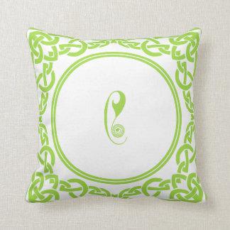 Almofada Letra personalizada irlandês C dos travesseiros