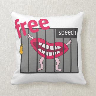 Almofada Liberdade de expressão!