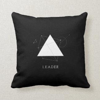 Almofada Líder do triângulo - personalize o travesseiro no