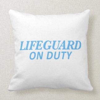 Almofada Lifeguard no impressão do dever