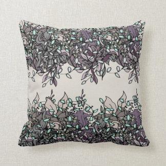 Almofada Linha floral moderna corajosa lunática travesseiro