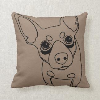 Almofada LINHA travesseiro decorativo mínimo do