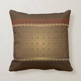 Almofada Linhas travesseiro asiático do estilo do vintage