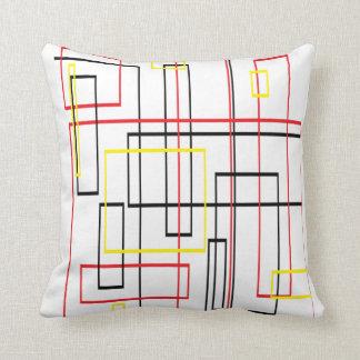 Almofada Linhas travesseiro decorativo legal da rede