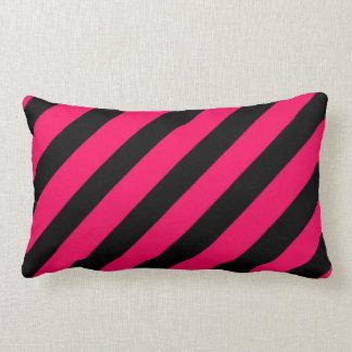 Almofada Listras Pink & Black