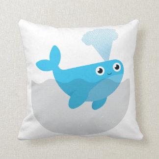 Almofada Livre as baleias