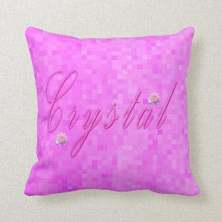 Almofada Logotipo conhecido das meninas de cristal,