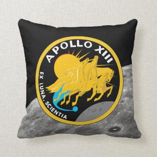 Almofada Logotipo do remendo da missão da NASA de Apollo 13