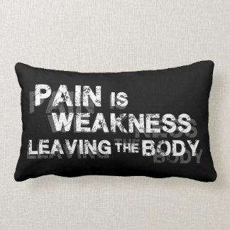 Almofada Lombar A dor é fraqueza que sae do corpo