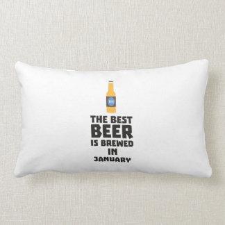 Almofada Lombar A melhor cerveja é em janeiro Zxe8k fabricado