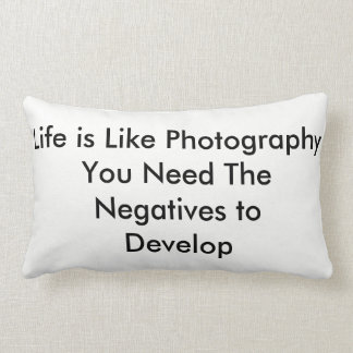 Almofada Lombar A vida é como a fotografia