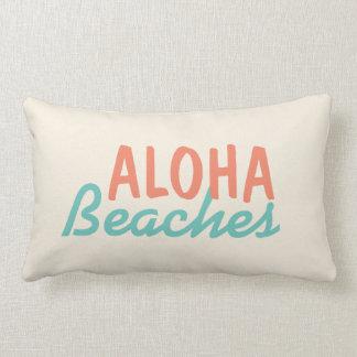Almofada Lombar Aloha travesseiro das praias
