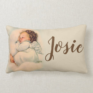 Almofada Lombar Anjo-da-guarda personalizado do bebê do sono