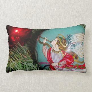 Almofada Lombar Anjo do Natal - arte do Natal - decorações do anjo