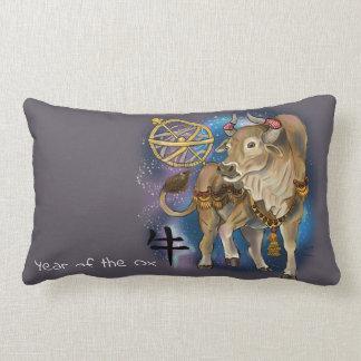 Almofada Lombar Ano chinês do zodíaco do boi
