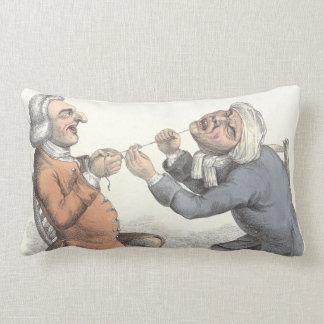 Almofada Lombar Antiguidade engraçada da extração do dente do