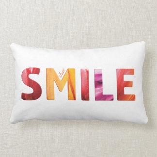 Almofada Lombar Apenas citações felizes 04 do sorriso