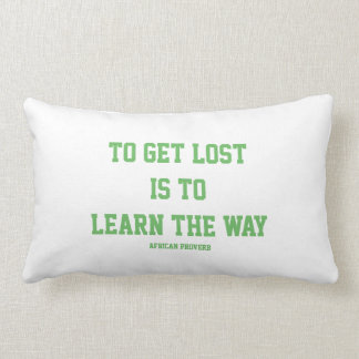 Almofada Lombar Aprendendo a maneira