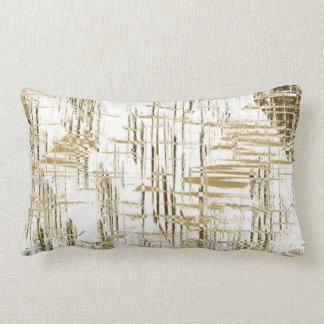 Almofada Lombar Art deco dourado