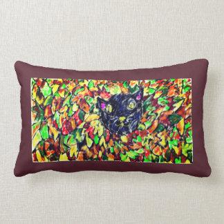 Almofada Lombar arte 2 do gato preto