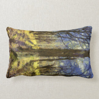 Almofada Lombar Arte da floresta de Vincent van Gogh
