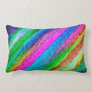 Almofada Lombar Arte digital colorida do travesseiro que espirra