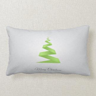 Almofada Lombar Árvore de Natal simples da fita do Natal