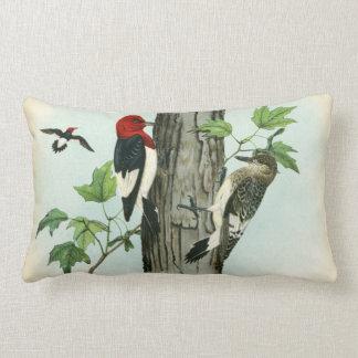 Almofada Lombar Árvore Vermelho-Dirigida da antiguidade da