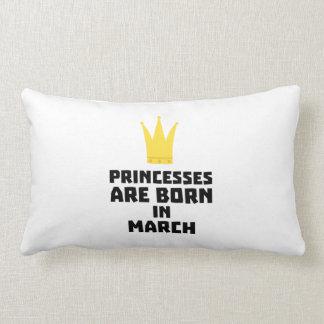 Almofada Lombar As princesas são em março Z1szr nascidos