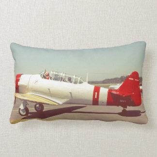Almofada Lombar Aviação, avião da hélice do marinho do vintage