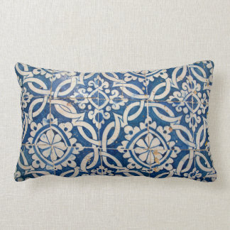 Almofada Lombar Azulejo do português do vintage