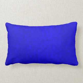 Almofada Lombar Azulejos de mosaico azuis quentes, coxim lombar