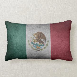 Almofada Lombar Bandeira afligida vintage de México