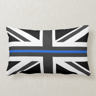 Almofada Lombar Bandeira fina de Blue Line Reino Unido