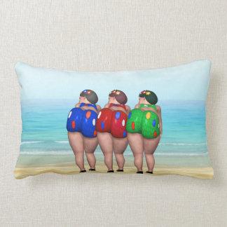 Almofada Lombar Banhando travesseiros das belezas