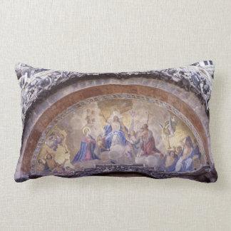 Almofada Lombar Bíblia gótico mural religiosa antiga da igreja