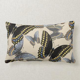 Almofada Lombar Borboleta preta de Swallowtail