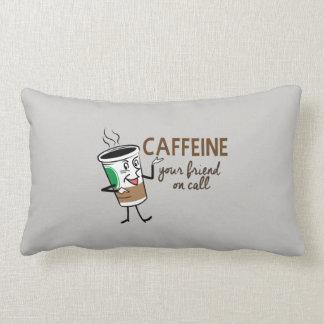 Almofada Lombar Cafeína, seu amigo na chamada
