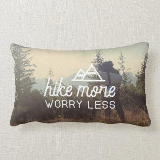 Almofada Lombar Caminhe mais, preocupe menos travesseiro