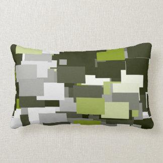 Almofada Lombar Camuflagem urbana verde cinzenta
