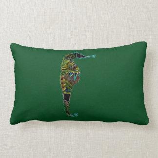 Almofada Lombar Cavalo marinho de néon