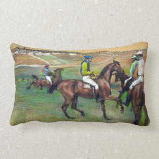 Almofada Lombar Cavalos de raça de Edgar Degas