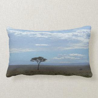 Almofada Lombar Céu Tanzânia da acácia, travesseiro lombar