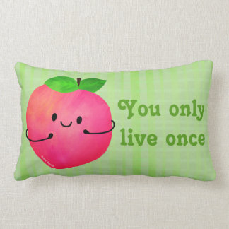 Almofada Lombar Chalaça positiva do pêssego - Peachy