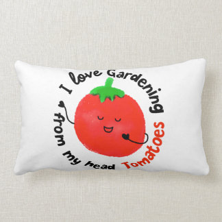 Almofada Lombar Chalaça positiva do tomate - de meus tomates