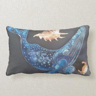 Almofada Lombar Cinza da baleia