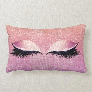 Almofada Lombar Composição Glam do encanto do brilho do rosa do