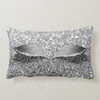 Almofada Lombar Composição Glam Monochroatic do chicote do brilho