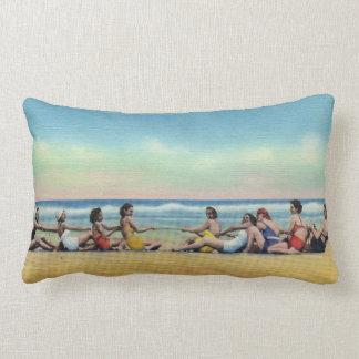 Almofada Lombar Conflito do vintage na praia